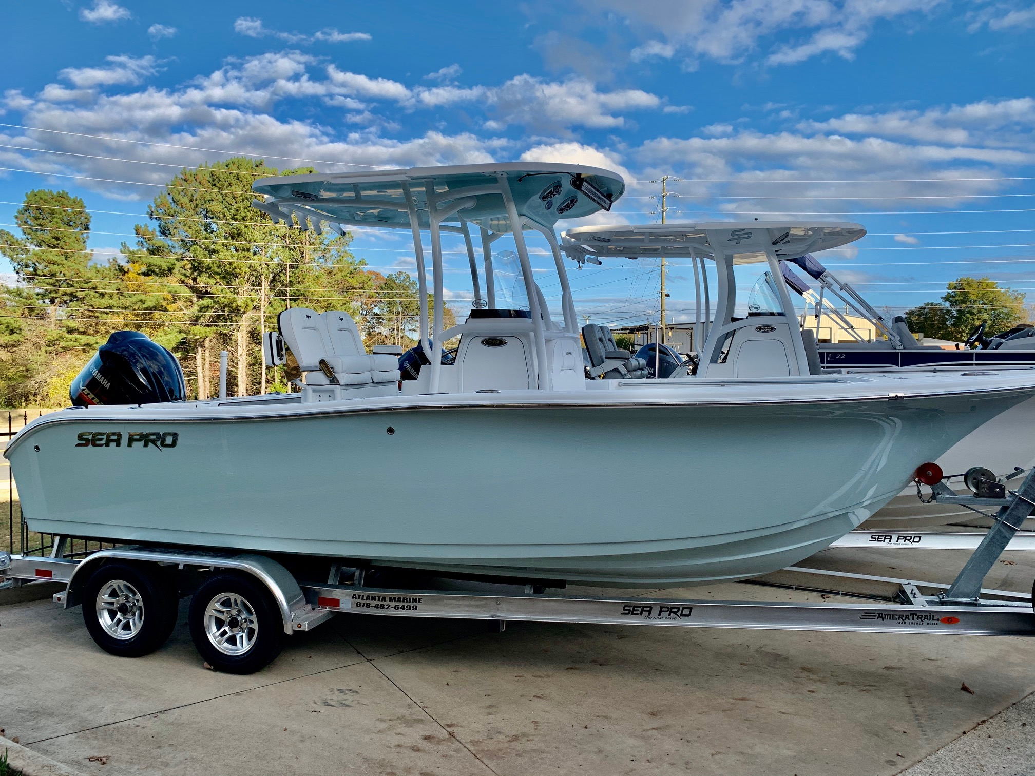 2021 Sea Pro 219 Center Console0